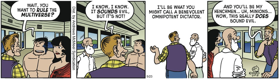 Alley Oop Comic Strip for May 23, 2020
