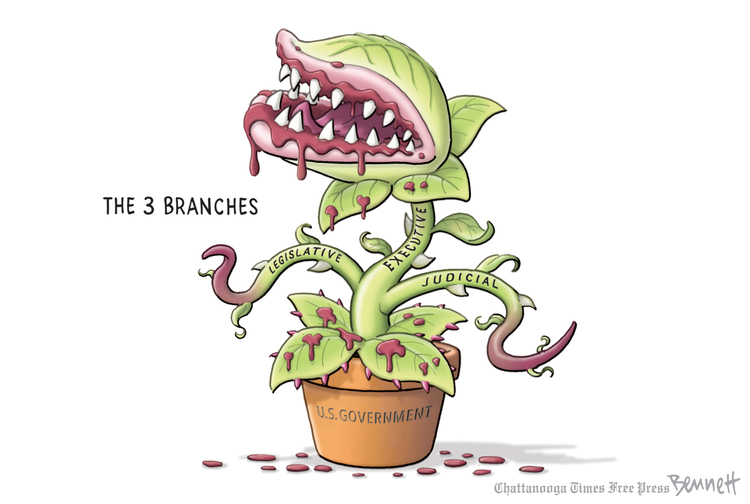 Clay Bennett by Clay Bennett for April 26, 2019