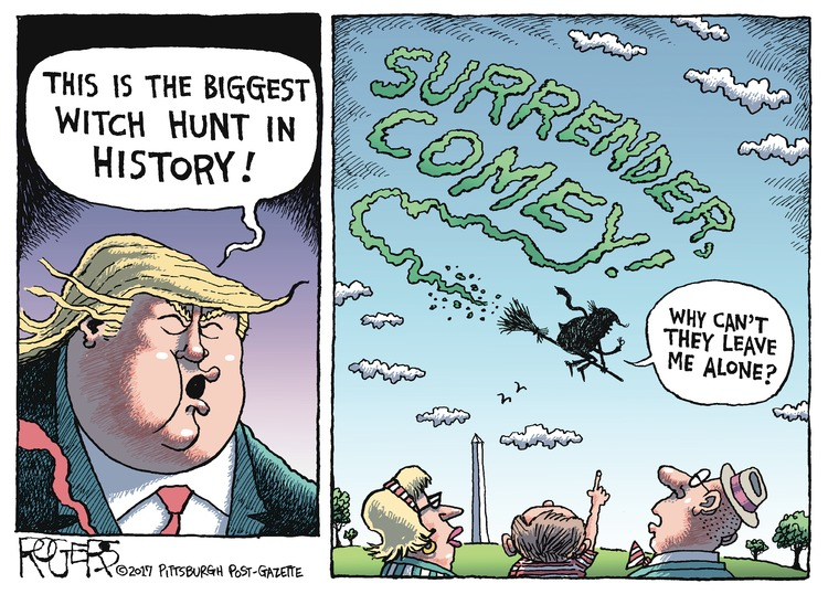 Rob Rogers Comic Strip for May 21, 2017