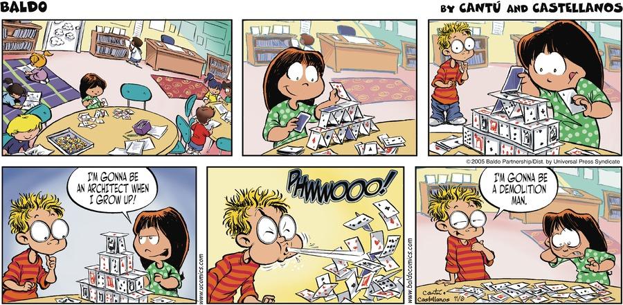 Baldo for Nov 6, 2005 Comic Strip