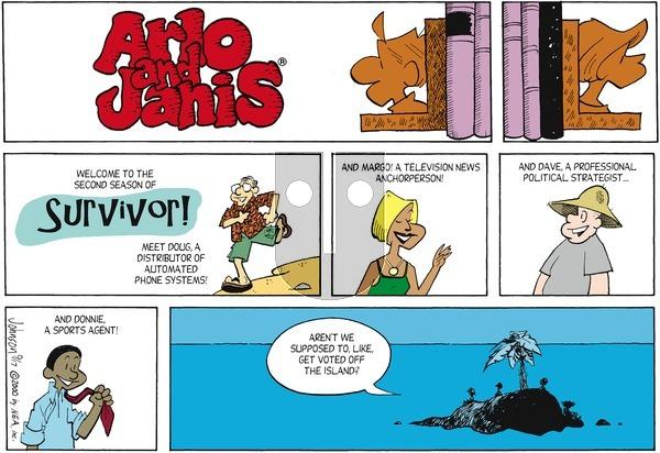 Arlo and Janis on Sunday September 17, 2000 Comic Strip
