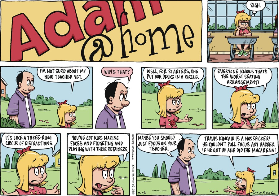 Adam@Home Comic Strip for September 13, 2015