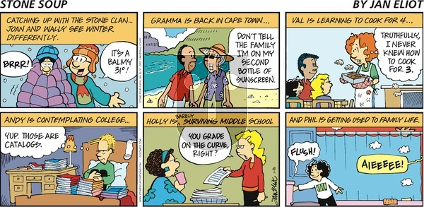 Stone Soup on Sunday January 31, 2016 Comic Strip