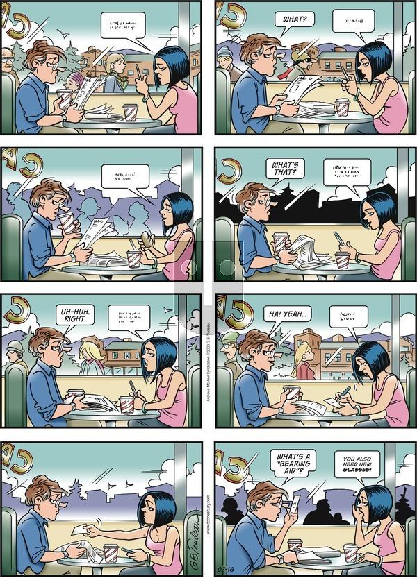 Doonesbury - Sunday February 16, 2020 Comic Strip