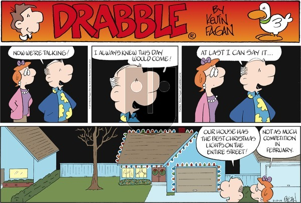 Drabble on Sunday February 17, 2019 Comic Strip