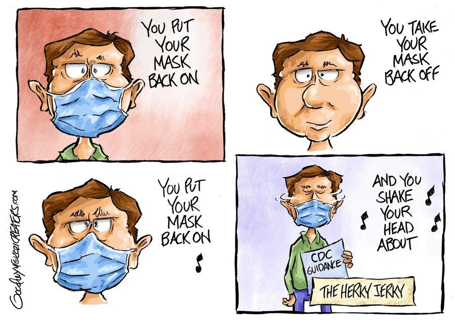 Al Goodwyn Editorial Cartoons Comic Strip for May 21, 2021