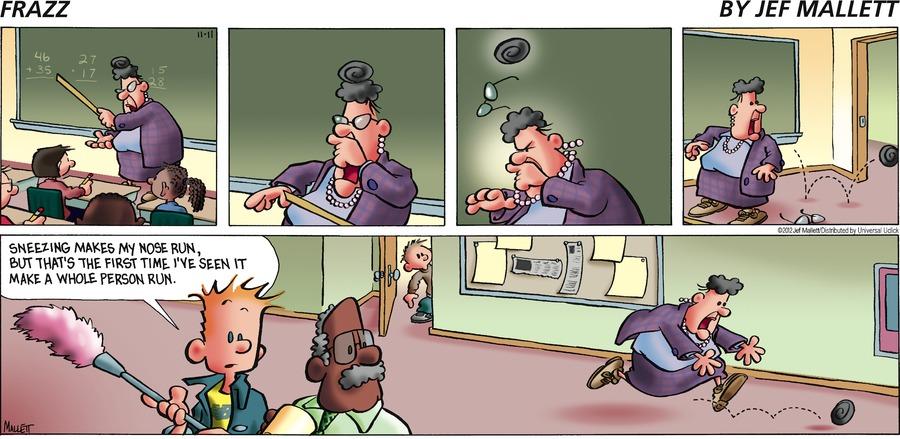 Frazz for Nov 11, 2012 Comic Strip