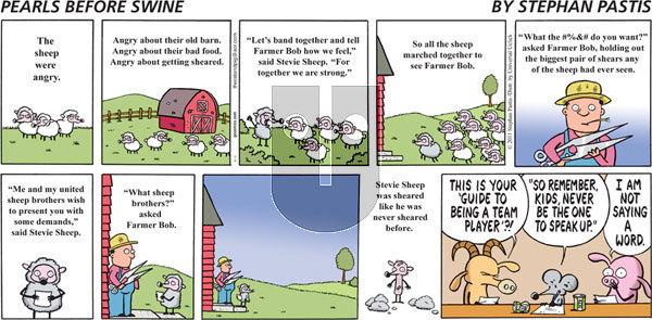 Pearls Before Swine - Sunday August 14, 2011 Comic Strip