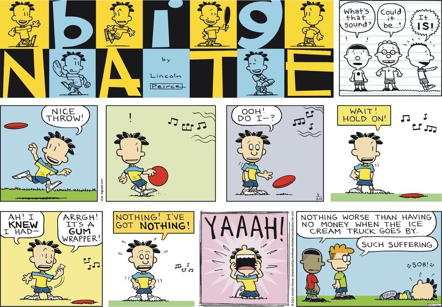 Big Nate Comic Strip for June 20, 2021