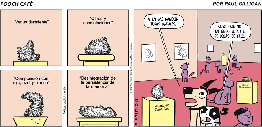 El Café de Poncho Comic Strip for October 18, 2020