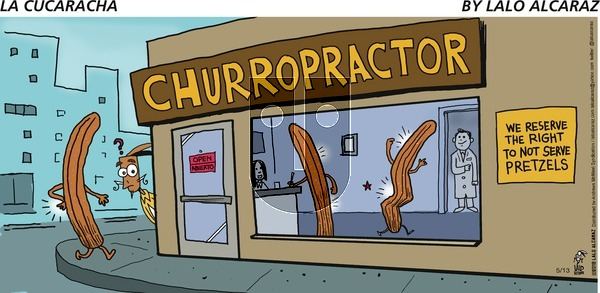 La Cucaracha on Sunday May 13, 2018 Comic Strip