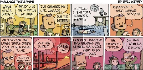 Wallace the Brave on Sunday January 31, 2021 Comic Strip