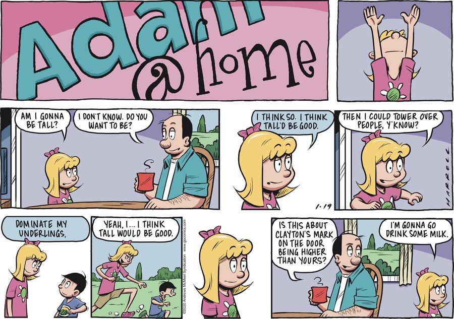 Adam@Home Comic Strip for January 19, 2020