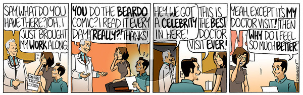 Beardo on Monday January 18, 2021 Comic Strip