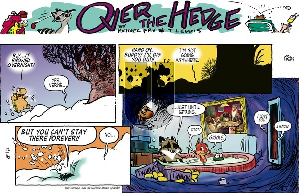 Over the Hedge - Sunday December 16, 2018 Comic Strip