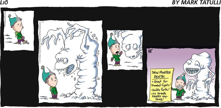 Lio for January 21, 2018 Comic Strip