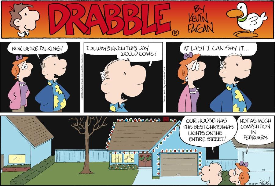 Drabble Comic Strip for February 17, 2019