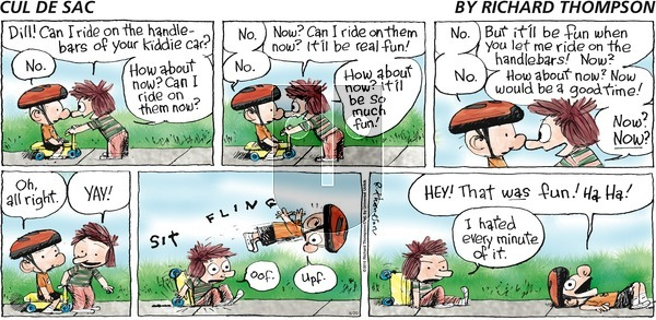 Cul de Sac - Sunday June 20, 2010 Comic Strip