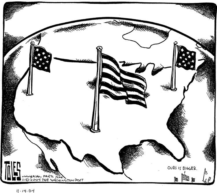 Tom Toles Comic Strip for November 14, 2004