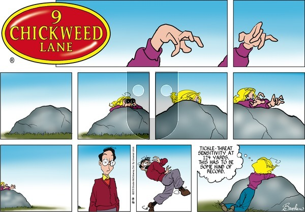 9 Chickweed Lane on Sunday October 16, 2016 Comic Strip