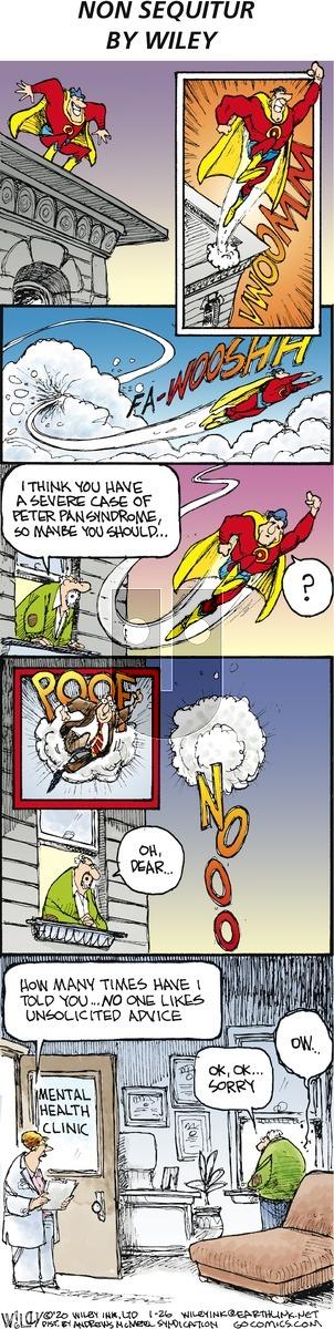 Non Sequitur - Sunday January 26, 2020 Comic Strip