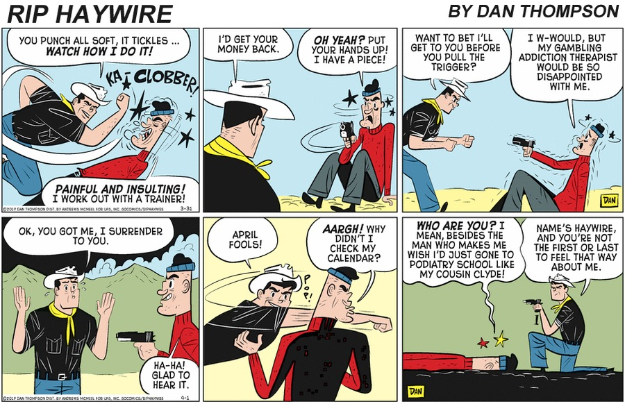 Rip Haywire by Dan Thompson on Sun, 14 Jun 2020