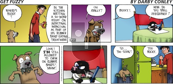 Get Fuzzy - Sunday March 17, 2019 Comic Strip