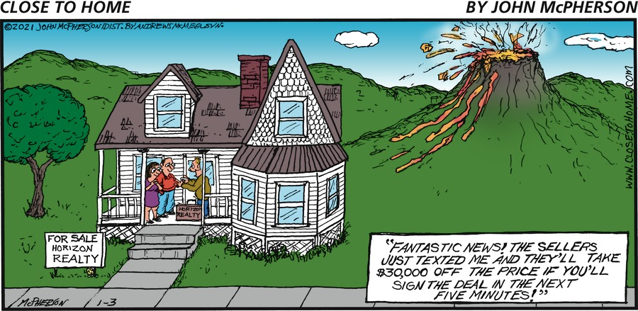 Close to Home Comic Strip for January 03, 2021