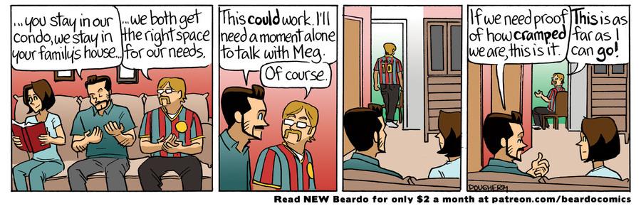 Beardo Comic Strip for September 05, 2021