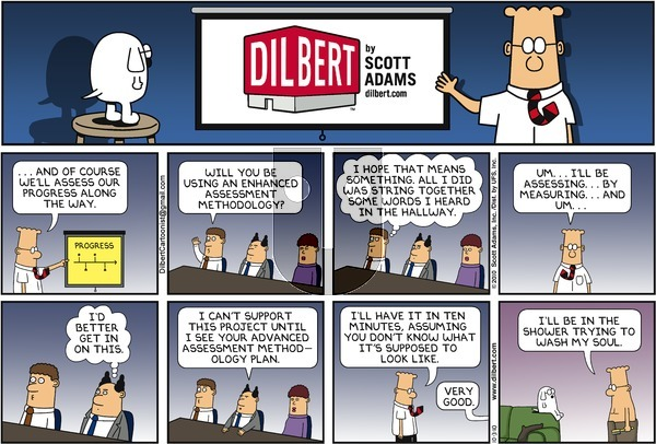 Dilbert - Sunday October 3, 2010 Comic Strip