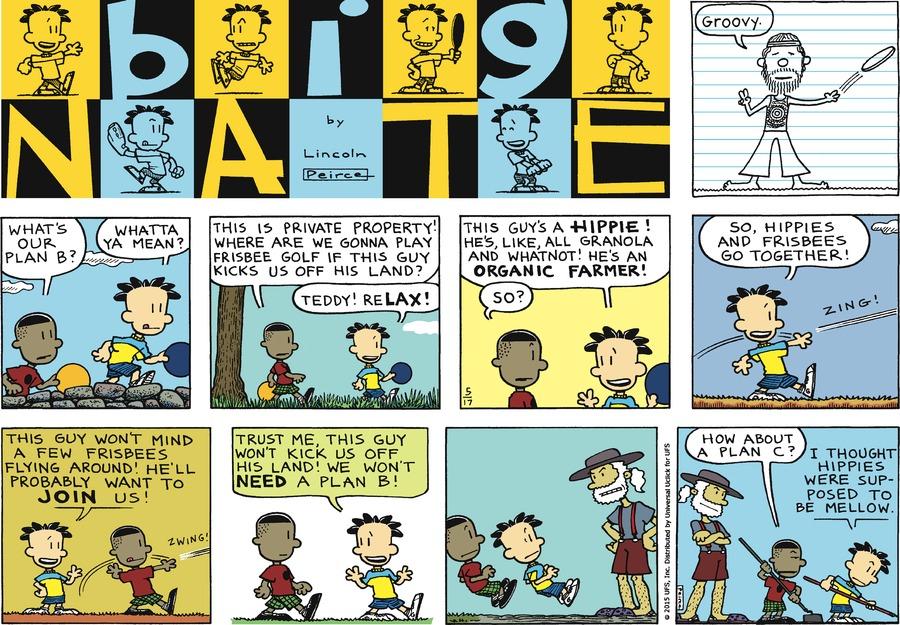 Big Nate Comic Strip for May 17, 2015