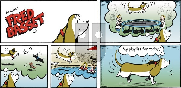 Fred Basset on Sunday October 6, 2019 Comic Strip