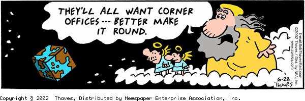 Frank and Ernest Comic Strip for June 28, 2002