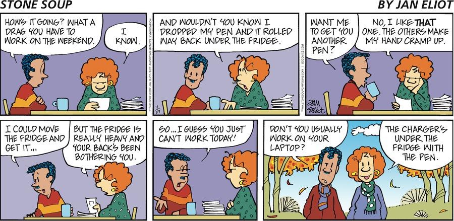 Stone Soup for Nov 19, 2017 Comic Strip