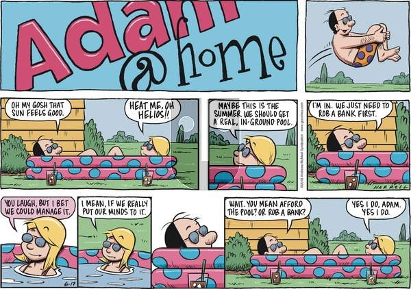 Adam@Home on Sunday June 17, 2018 Comic Strip