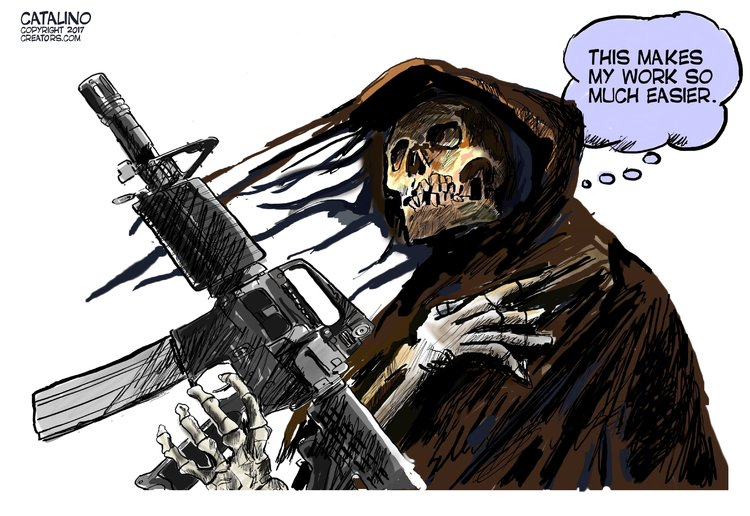 Ken Catalino for Oct 3, 2017 Comic Strip
