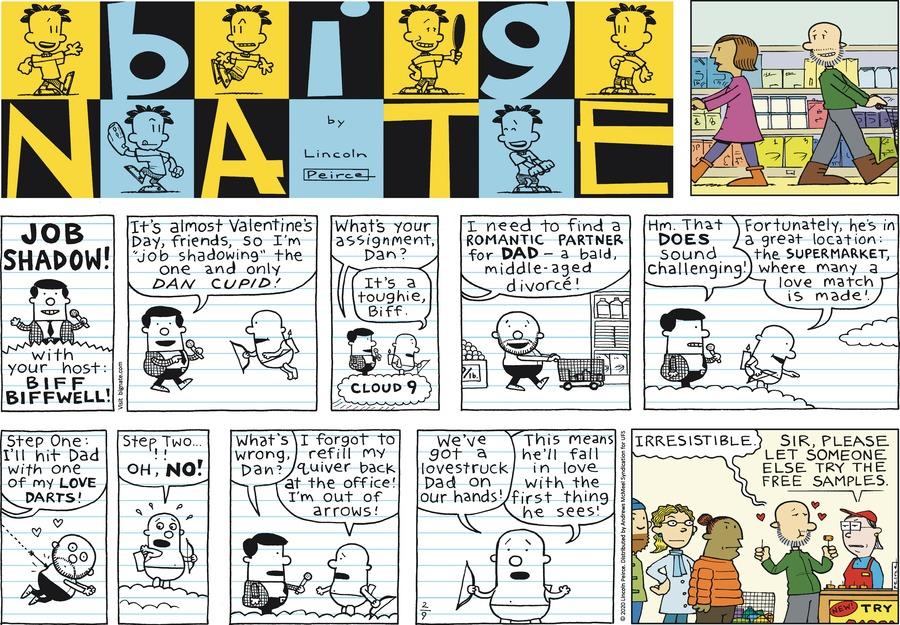 Big Nate Comic Strip for February 09, 2020