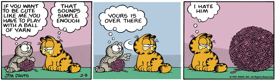 Garfield Classics by Jim Davis on Sun, 14 Feb 2021