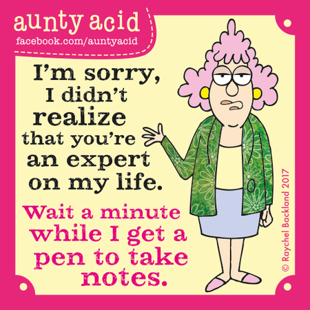 Aunty Acid for Jun 30, 2017 Comic Strip