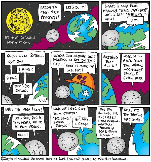 Making It Comic Strip for July 18, 2019