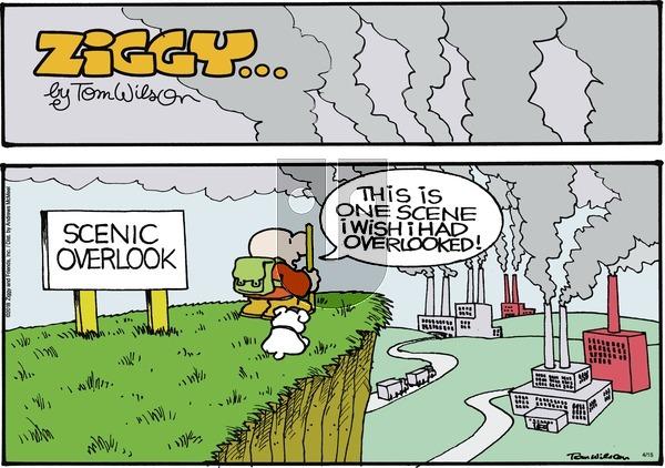 Ziggy on Sunday April 15, 2018 Comic Strip