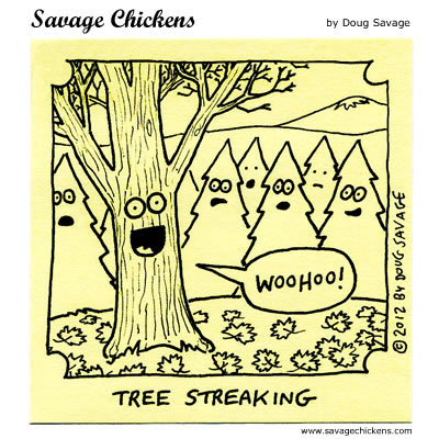 Savage Chickens Comic Strip for October 05, 2016