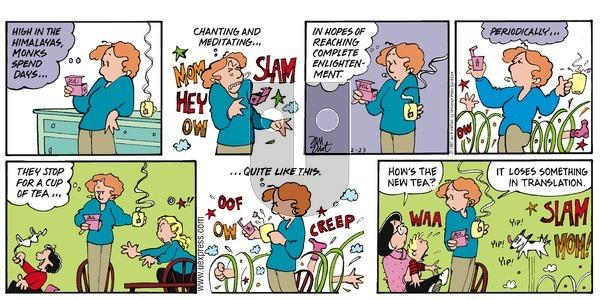 Stone Soup on Sunday February 23, 1997 Comic Strip