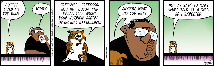 Rudy Park Comic Strip for February 11, 2019
