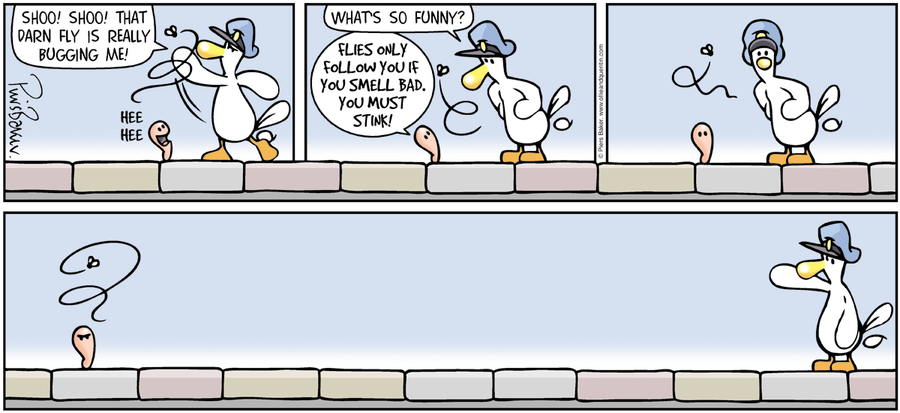 Ollie and Quentin Comic Strip for April 10, 2016