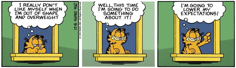 Garfield Classics Comic Strip for September 26, 2021
