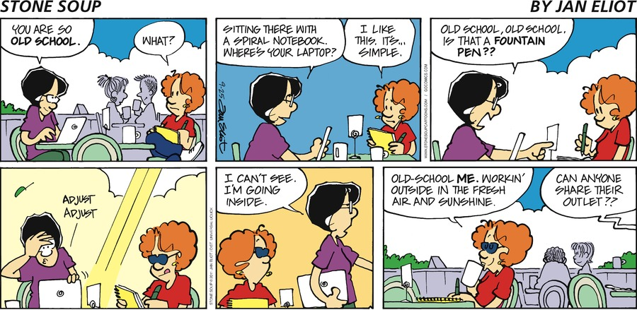 Stone Soup Comic Strip for September 25, 2011