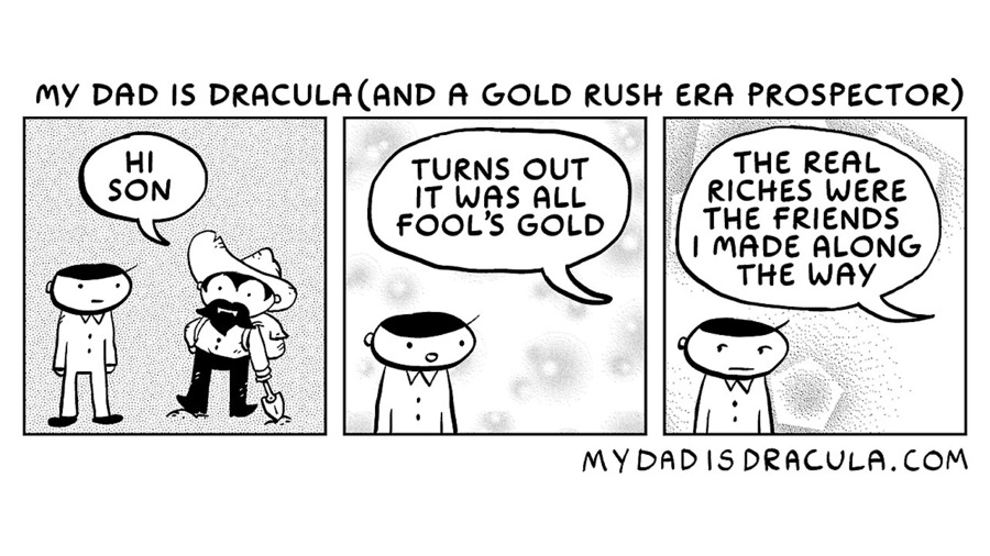 My Dad is Dracula Comic Strip for October 04, 2020