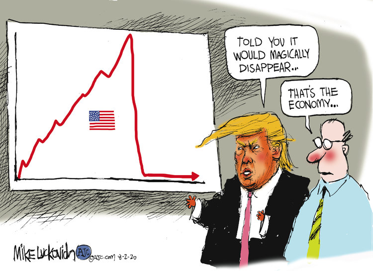 Mike Luckovich Comic Strip for August 02, 2020