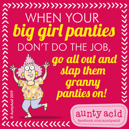 Aunty Acid by Ged Backland for March 09, 2019